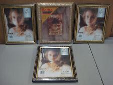 "NIP 4 Picture Frames 8""x 10"" Intercraft & Kodak #103C"