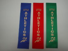 1ST,2ND,3RD PLACE AWARD RIBBONS FOR LITTLE ATHLETICS