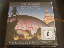 Box Set: Uriah Heep : The Classic Rock Years : 3 Live CDs  & 3 DVDs : Sealed