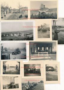V470 Fotos Kriegsschule Potsdam 1936 Lehrregiment Kaserne innen Details Gebäude