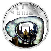 STAR TREK: THE CITY ON THE EDGE OF FOREVER – 2016 $20 1 oz Fine Silver Coin