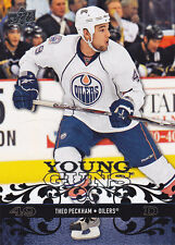 2008-09 UPPER DECK THEO PECKHAM RC YOUNG GUNS #469 08-09