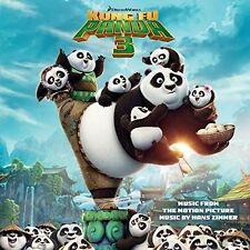 1 CENT CD Kung Fu Panda 3 SOUNDTRACK hans zimmer