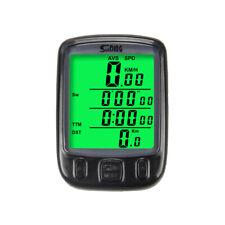 Wireless Bike Computer Odometer Speedometer Road Bike MTB Cycle Bicycle
