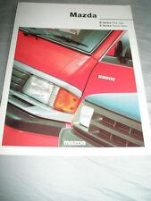 Mazda B Series Pick Up & E Series Panel Van brochure Jul 1993