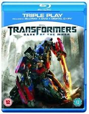 Transformers - The Dark of the Moon - Blu Ray & DVD - New