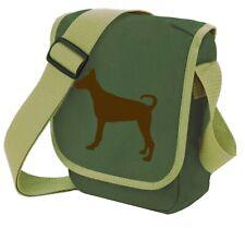 More details for doberman pinscher dog gift pack shoulder bag & wallet mothers day doberman bag