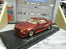 MERCEDES BENZ 500SEC 500 SEC W126 C126 Koenig Tuning 1985 red ro NEO Resin 1:43