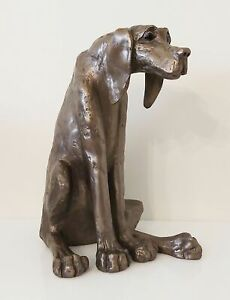 Dog Cold Cast Bronze Ornament - Sidney - Frith Sculpture NEW