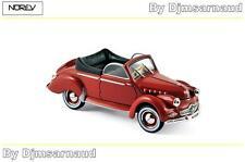 Panhard Dyna X Cabriloet de 1951 Red NOREV - NO 451803 - Echelle 1/43