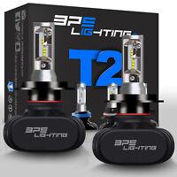 BPS Lighting T2 Series H4/9003/HB2 LED Headlight Bulbs Conversion Kit 8000LM 50W
