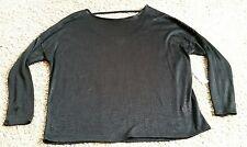 NWT Old Navy Long Sleeve Knit Sweater size XXL 2XL - black/blackjack