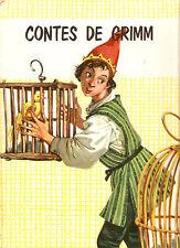 CONTES DE GRIMM   ed . O.D.E.J.  1961 livre illustré par NARDINI et MARAJA