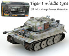WW2 German Tiger 1 tank model SS 101 Heavy Panzer Battalion 1/72 Easy model