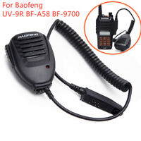 Walkie Talkie Microphone Two Way Radio Speaker For Baofeng UV-9R BF-A58 BF-9700