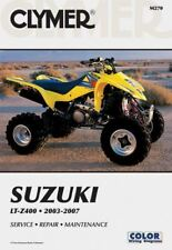 Suzuki LTZ400 03-08 Clymer Workshop Manual