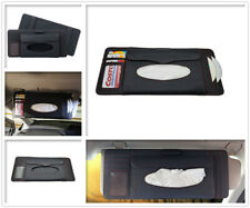 Car Sun Visor Organiser Cards Tickets Storage Pocket CD Pouch Tissue Holder New