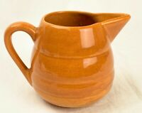 RARE Vtg Bauer Los Angeles Ray Murray Goss Pastel Kitchenware 1 Qt Brown Pitcher