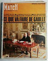 N238 Magazine Paris-Match N°872 25 décembre 1965 special édition de Gaulle