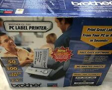Brother QL-500 PC Label Printer Thermal Transfer System - New Open Box