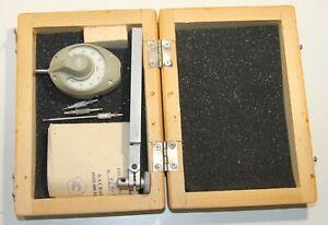 USSR Mikrokator  IRPV, Range +/-0.04mm (40-0-40), Graduations 0.001mm