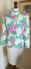 Authentic Christian Dior Robe vintage veste de tailleur jupe chemisier foulard FR36 UK8