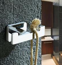 Brass Wall Hooks Hanger Bathroom Accessory Bathing Towel Holder Chrome Finishes