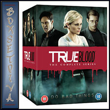 TRUE BLOOD - COMPLETE SERIES SEASONS 1 2 3 4 5 6 & 7  **BRAND NEW DVD BOXSET**