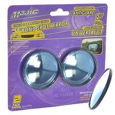 "Majic Round Convex & Anti-Glare Wide Angle Rear View Car Blind Spot Mirror, 2"""