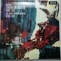 Bartok: Concerto for Orchestra / Dance Suite / Solti / LSO / Decca LP SXL 6212