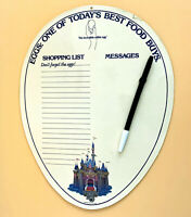 Vintage Disneyland American Egg House Restaurant Shopping List Souvenir 1980