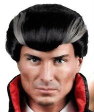 Men's Dracula Vampire Wig Fancy Dress Costume Adult Bloodthirst Party Halloween
