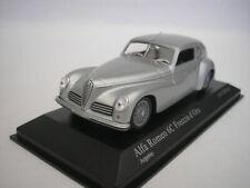 Alfa Romeo 6C Freccia D'Oro 1947 Silver 1/43 minichamps 400120480 New