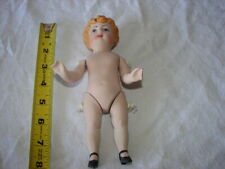 Doll Artist Crafted 1984 Rl Bisque Porcelain Reproduction Handmade 7 1/2 Inch