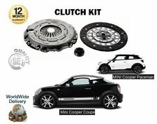 FOR BMW MINI PACEMAN COUPE 1.6 COOPER S SD JCW D 2011->NEW CLUTCH KIT COMPLETE