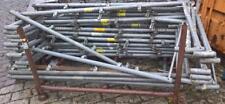 Layher Alfix Schutzgitterstütze Geländerpfosten  2,00 x 0,73m für Gerüstnetz