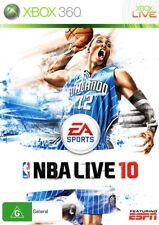 NBA LIVE 10 *NEW & SEALED* Xbox 360 2010