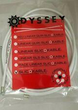 ODYSSEY SLIC BMX BICYCLE BRAKE CABLE WHITE