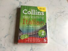 Collins Italian Easy Learning Audio Course - Stage 1 - 3 CD'S