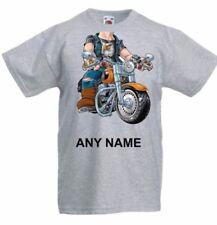 Camicia casual senza marca con girocollo per bambini dai 2 ai 16 anni