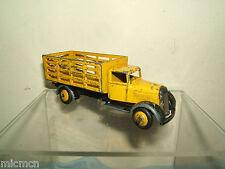 """Vintage Dinky Toys No.25F mercado jardineros camión """"amarillo versión"""""""