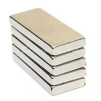 5/10/20x N52 25mm x 10mm x 3mm Neodymium NdFeB Strongest Block Fridge Magnets
