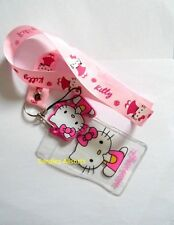 Hello Kitty Lanyard Neck Strap / ID Holder / Padded Kitty