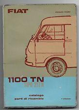 1962 FIAT 1100 TN tipo 217 N catalogo parti ricambio meccaniche elettriche