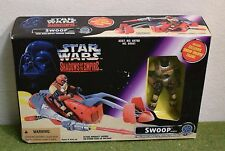 STAR WARS POWER OF THE FORCE SHADOWS OF THE EMPIRE SWOOP VEHICLE SPEEDER BIKE