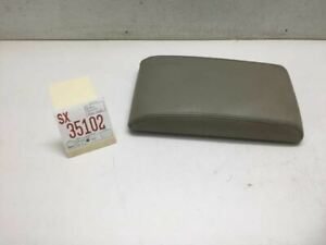 Infiniti QX4 Center Console Arm Rest Armrest Leather OEM 1997-2000 FS