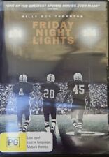 Friday Night Lights DVD PAL 4 One of the Greatest Football Sport Movies Like NEW