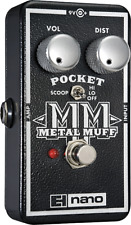 Electro-Harmonix EHX Pocket Metal Muff Distortion Guitar Effects Pedal