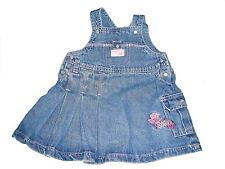 Tolles Jeans Kleid Gr. 68 mit kleiner Stickerei vorn !!