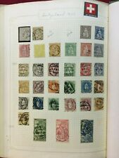 CMM18) Switzerland, lovely collection 1862 – 2000